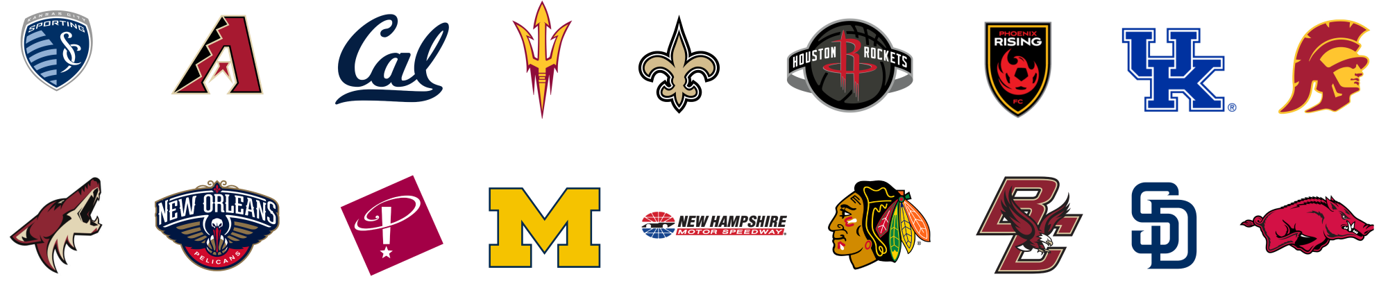 Sports Entertainment Logos